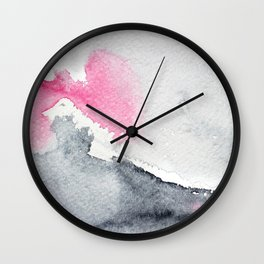 Diffusion || watercolor Wall Clock