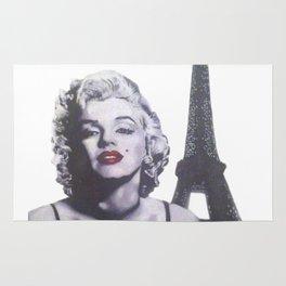 Marilyn in Paris Rug