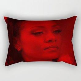 Rihanna - Celebrity (Dark Fashion) Rectangular Pillow