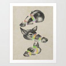 multiplicity Art Print