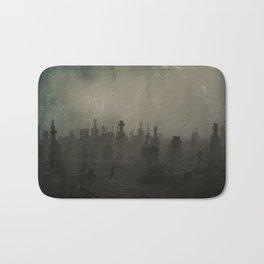 Dark And Dank Fog Bath Mat