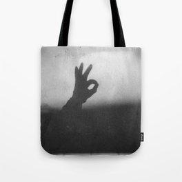 OK (B&W) Tote Bag