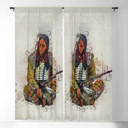 Indian Chief Blackout Curtain