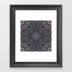 Mandala 17/1 Framed Art Print
