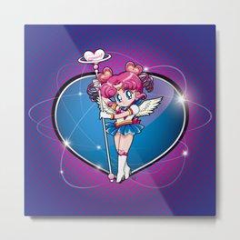 Sailor Chibi Chibi - Sailor Moon Sailor Stars vers. Metal Print