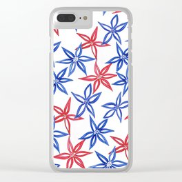 Simply flowers Clear iPhone Case