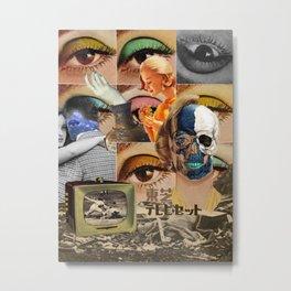 stagnant composition Metal Print