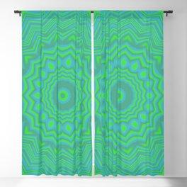 Funky Kaleidoscope 3 Blackout Curtain