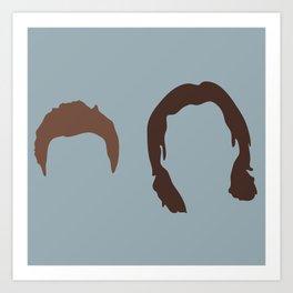 Supernatural Sam and Dean, ya'll Art Print