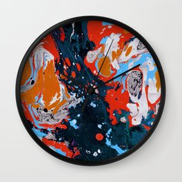 Abstract artistic painting Wall Clock