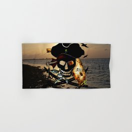 Fishing with a Florida Pirate Hand & Bath Towel