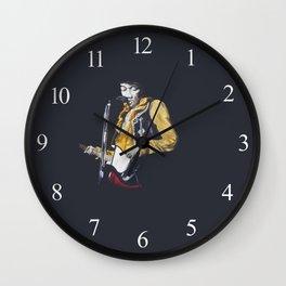 Jimi at Monterey 2 Wall Clock