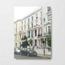 London Notting Hill Metal Print