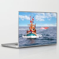 thailand Laptop & iPad Skins featuring Pattaya - Thailand by Namchok Petsaen