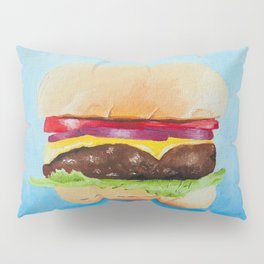 Cheeseburger Pillow Sham