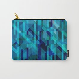 abstract composition in blues Carry-All Pouch
