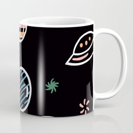 Planet Science Astronomy Mystical Space Star Ship Gift Coffee Mug