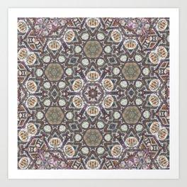 Mandala Of The Earth Art Print