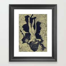 Proserpina's Escape Framed Art Print