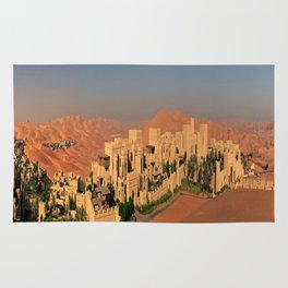Qasr Al Sarab Desert Resort in Abu Dhabi Rug