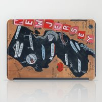 new jersey iPad Cases featuring NEW JERSEY by Christiane Engel