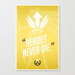 Ultimate Quote - Mercy Canvas Print