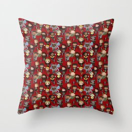 The Chibi Inquisition Throw Pillow