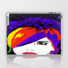 Ladies Hair Laptop & iPad Skin