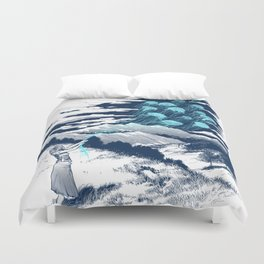 Release the Kindness Duvet Cover
