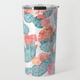 PRICKLY PURPLE, pattern by Frank-Joseph Travel Mug