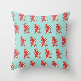 Space Cowboy - Holiday Edition Throw Pillow