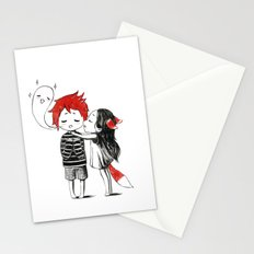Boy and a Fox Stationery Cards