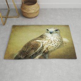 The Saker Falcon Stare Rug
