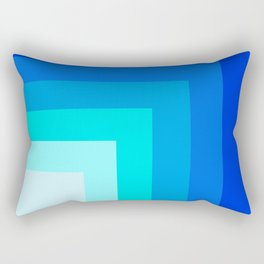 Square by square Rectangular Pillow