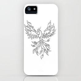 White Phoenix iPhone Case