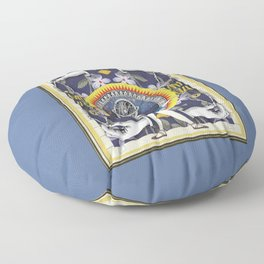 Ace of Pentacles Floor Pillow