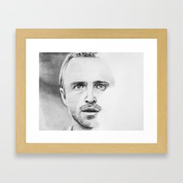 Aaron Paul Framed Art Print