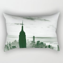 New York m Rectangular Pillow