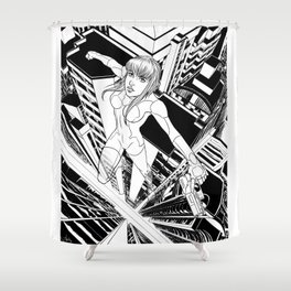 Ghost in the Shell Shower Curtain