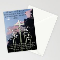 The Coming of the Son of Man Stationery Cards