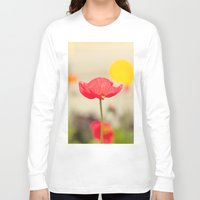 imagine Long Sleeve T-shirts featuring Imagine by Laura Ruth