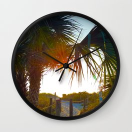 Lead Me to the Sun -Photography Collection Wall Clock