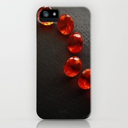 SLICED HEART iPhone Case