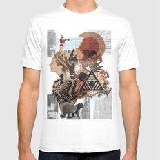What Went Before Part 1 Mens Fitted Tee MEDIUM White