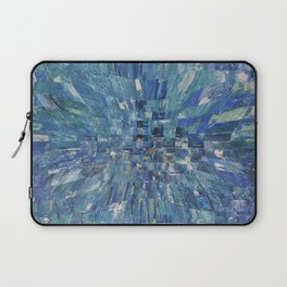 Abstract blue pattern 5 Laptop Sleeve
