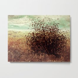 And the Earth Fluttered Metal Print