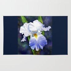 Susan's Blue Iris Rug