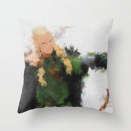 Greenleaf Throw Pillow