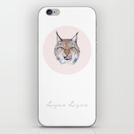 Lynx Lynx portrait iPhone Skin