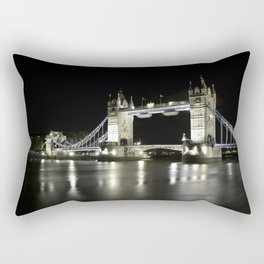 Tower Bridge is one of five London bridges now owned and maintained by the Bridge House Estates Rectangular Pillow